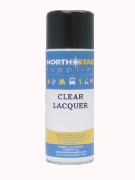 Clear Lacquer 400ml - North Star Supplies